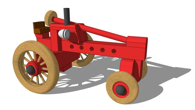Sketchup Components 3d Warehouse Toy 3d Toy Component