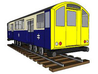 British Rail Train