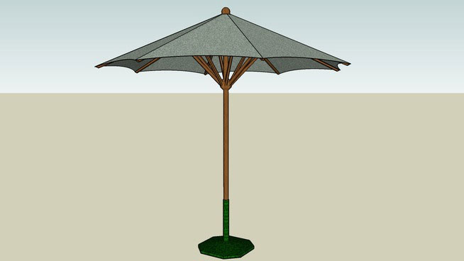 Sketchup components 3d warehouse umbrella for Outdoor furniture 3d warehouse
