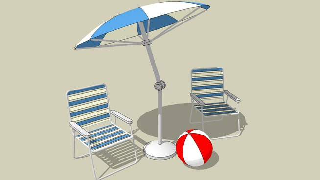 Sketchup components 3d warehouse outdoor furniture for Outdoor furniture 3d warehouse