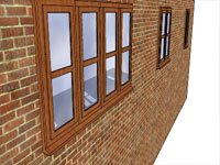 Set of Windows in Sketchup